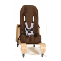 Special Tomato Soft-Touch Sitter with Mobile Base (small) size 2
