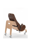 Special Tomato Soft-Touch Sitter with Mobile Base (small) size 1